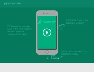 previewyourapp.com screenshot