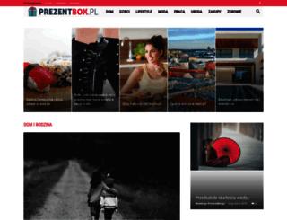 prezentbox.pl screenshot
