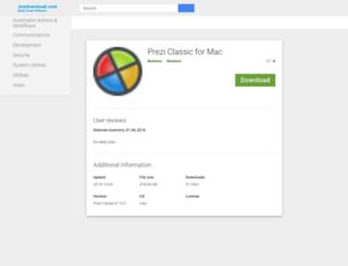 prezi-desktop.joydownload.com screenshot