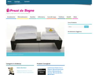 prezzidasogno.com screenshot