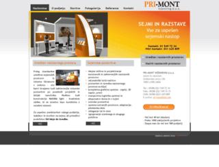 pri-mont.com screenshot