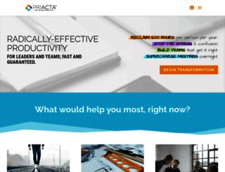 priacta.com screenshot
