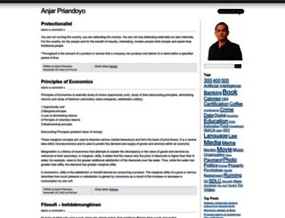 priandoyo.wordpress.com screenshot