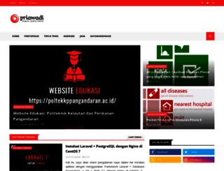priawadi.blogspot.com screenshot