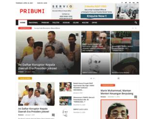 pribumi.id screenshot