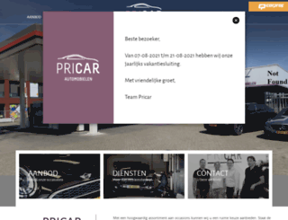 pricar.nl screenshot