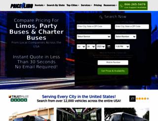 price4limo.com screenshot