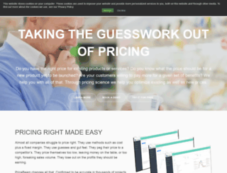 pricebeam.com screenshot