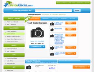 priceclicks.com screenshot