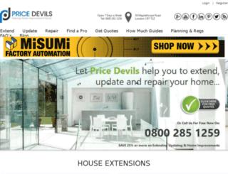 pricedevils.net screenshot