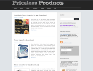 pricelessproducts.blogspot.com screenshot