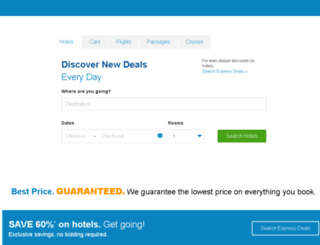 priceline-europe.com screenshot