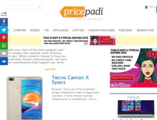pricepadi.com screenshot
