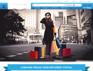 pricepap.pricecomparisonscript.info screenshot