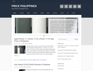 pricephilippines.com screenshot