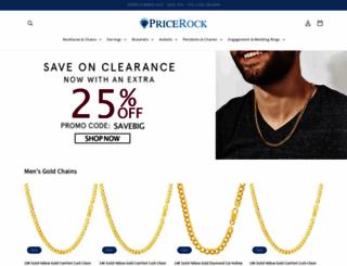 pricerock.com screenshot