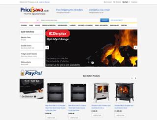 pricesava.co.uk screenshot