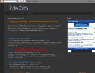 pricesolve.blogspot.com screenshot