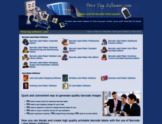 pricetagsoftware.com screenshot