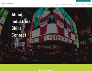 priceweber.com screenshot