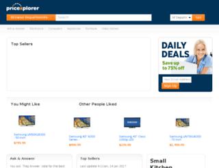 pricexplorer.net screenshot