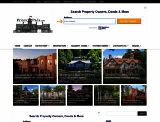 priceypads.com screenshot
