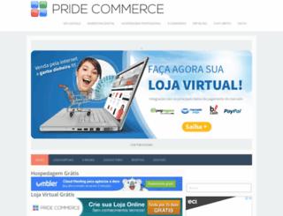 pridecommerce.blogspot.com.br screenshot