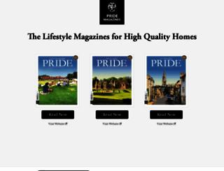 pridemagazines.co.uk screenshot