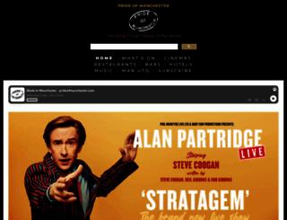 prideofmanchester.com screenshot