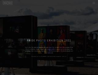 pridephotoaward.org screenshot