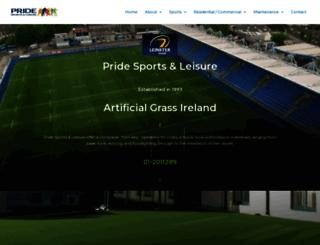 pridesports.ie screenshot