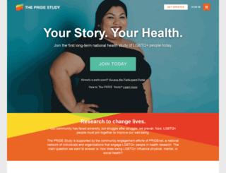 pridestudy.org screenshot