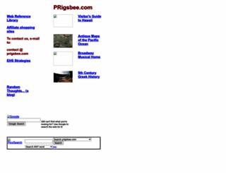 prigsbee.com screenshot