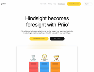 priio.com screenshot
