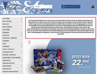 prima-basteln.com screenshot