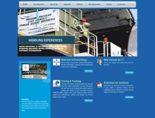 prima-cargo.com screenshot