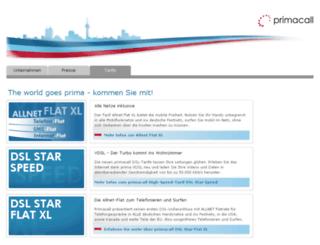 primacall.info screenshot