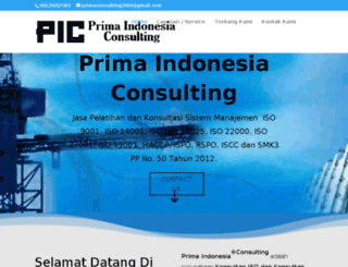 primaconsulting.co.id screenshot