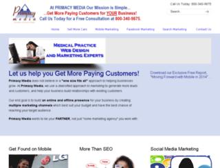 primacy-media.com screenshot