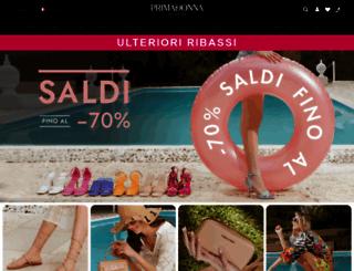 primadonnacollection.com screenshot