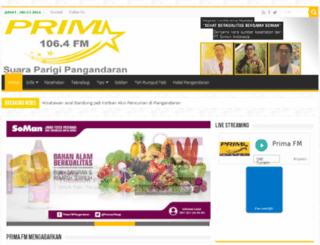 primafm.com screenshot