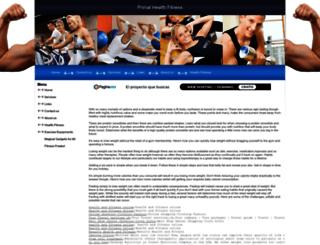primalhealthfitness.webpin.com screenshot