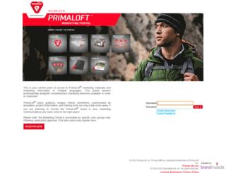 primaloft.brandmuscle.net screenshot
