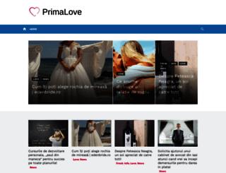 primalove.ro screenshot