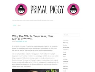 primalpiggy.wordpress.com screenshot