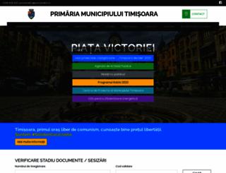 primariatm.ro screenshot