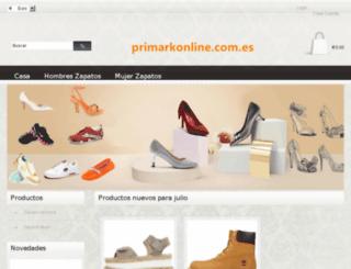primarkonline.com.es screenshot