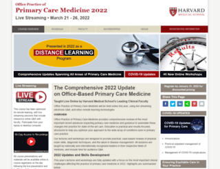 primarycare.hmscme.com screenshot