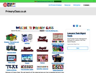 primaryclass.co.uk screenshot