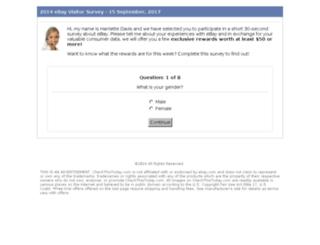 primarycustomersurvey.com screenshot